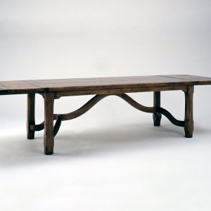 Old English Country Style Dining Table