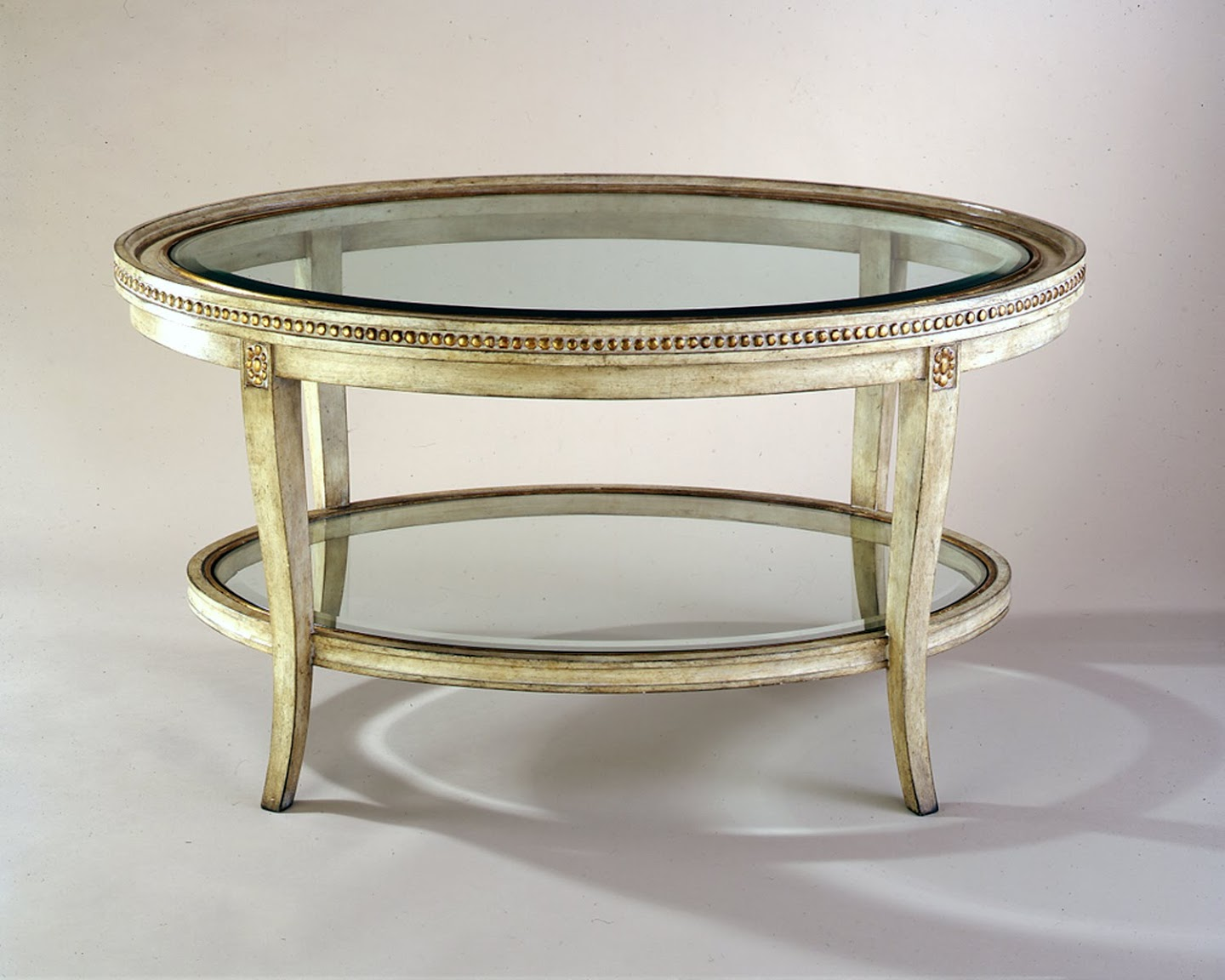 Classic Oval Coffee Table