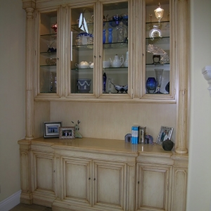 Custom Built In Wall Unit